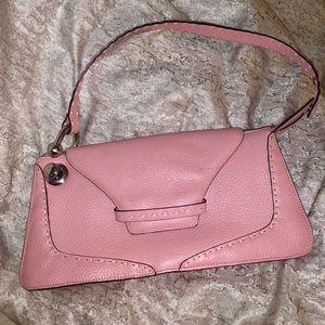 BCBGMaxAzria pink shoulder bag